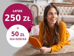 Promocje Millenium: 250 zł na start + 50 zł za konto dla dziecka