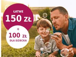 Szybkie 150 zł w promocji Banku Millenium (+ 100 zł dla dziecka)