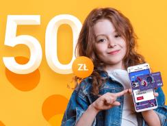 Karta podarunkowa Goodie 50 zł za konto dla dziecka w Banku Millennium