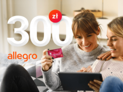 300 zł na Allegro za wyrobienie karty kredytowej Banku Millenium (+ 600 zł zwrotu)