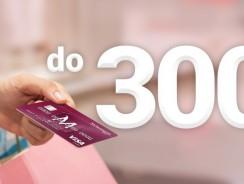 300 zł za wyrobienie karty kredytowej Millenium (+ 600 zł zwrotu)