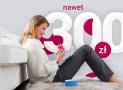 300 zł za wyrobienie karty kredytowej Banku Millenium + 760 zł zwrotu za płatności