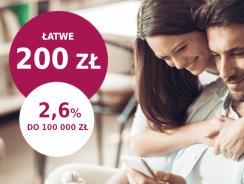 Promocje Millenium: Zyskaj 200 zł premii i 2,6% na koncie oszczędnościowym