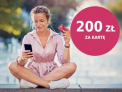 Bonus 200 zł za wyrobienie karty kredytowej Banku Millenium