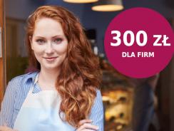 Millenium promocja dla firm: do 300 zł za otwarcie konta firmowego