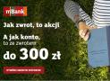Promocja mBank: mKonto Intensive z premią 300 zł