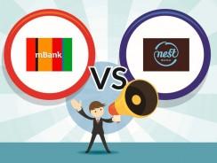 Nest Bank czy mBank? Porównanie kont, lokat i oprocentowania