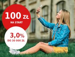 Promocje Pekao: łatwe 100 zł na start i 3% na koncie oszczędnościowym