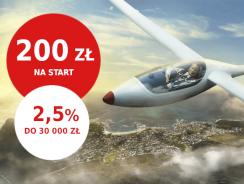 Promocje Pekao: 200 zł na start i 2,5% na koncie oszczędnościowym