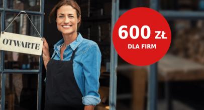 Pekao promocje dla firm: do 600 zł za założenie konta firmowego