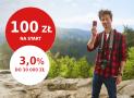 Promocje Pekao: 100 zł na start i 3% na koncie oszczędnościowym