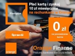 Orange Konto Bankowe: premia 120 zł + 3,5% na koncie + brak opłat przez 2 lata