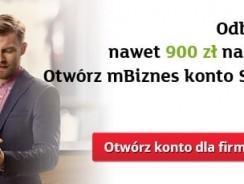 mBank: Promocja konta firmowego mBiznes – 900 zł na ZUS