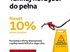 Toyota Bank Konto Osobiste: do 10% zwrotu wydatków na paliwo