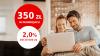 Promocje Santander: 50 zł premii + 300 zł zwrotu + 2% na lokacie