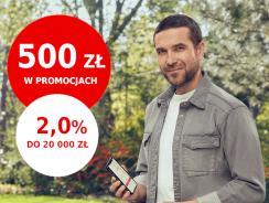 Promocje Santander: 200 zł premii + 300 zł zwrotu + 2% na lokacie