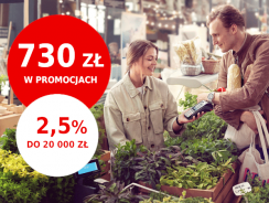 Promocje Santander: od 280 do 730 zł premii i 2,5% na lokacie