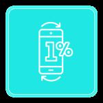 zwrot 1 procent